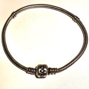 Authentic Pandora classic charm bracelet 7.5